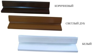 Водоотливной бортик на деревянные евроокна